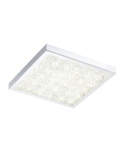eglo-plafonnier-carre-cardito-led-47-cm-chrome-cristal