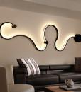 TZ-LED-Serpent-mur-lampes-Moderne-minimaliste-cr-ative-courbe-lumi-res-applique-murale-luminaire-arandela